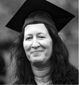 Jill Hrubes, R.O.S.E. Award Winner. Jill recently earned her BA in Women's Studies and Social Justice from Simmons College.
